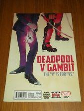 DEADPOOL V GAMBIT #2 MARVEL COMICS