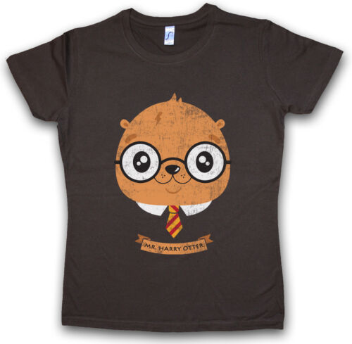 Harry Otter T-shirt Femmes Fun Potter Wizard Forest Woods CANADA FISH POISSON