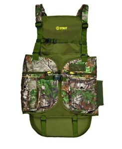acbb2239ee78e Buy Hunters Specialties Turkey Vest L/xl Xtra Green 01856 online | eBay