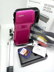 SANYO-VPC-CG10-HD-Xacti-Dual-Camera-Digital-Camcorder-MPEG4-PINK-VPC-CG10EXP
