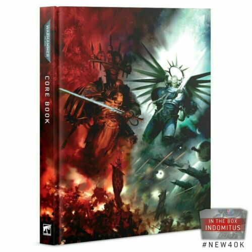 New Warhammer 40K 9th Edition Core Rulebook Indomitus version