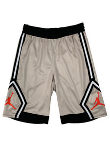 Jordan-Mens-Dri-Fit-Rise-Diamond-Jumpman-Basketball-Shorts-Beige-Tan-Black-New