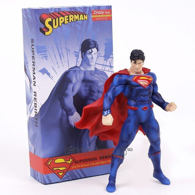 FIGURINE jouets Superman Renaissance 1/10 Scale PVC Figure Collection Modèle