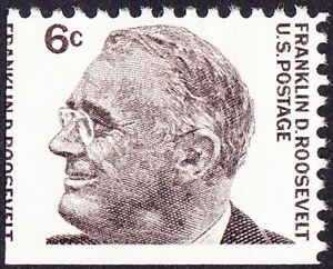 Image Is Loading US 1966 6 Cents Franklin D Roosevelt Issue