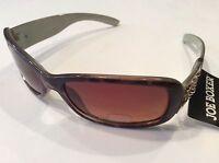 Joe Boxer Tortoise Print Sunglasses