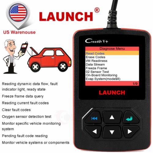 OBD2 Code Reader Engine Car Diagnostic Scanner 100/% Original Launch Creader V