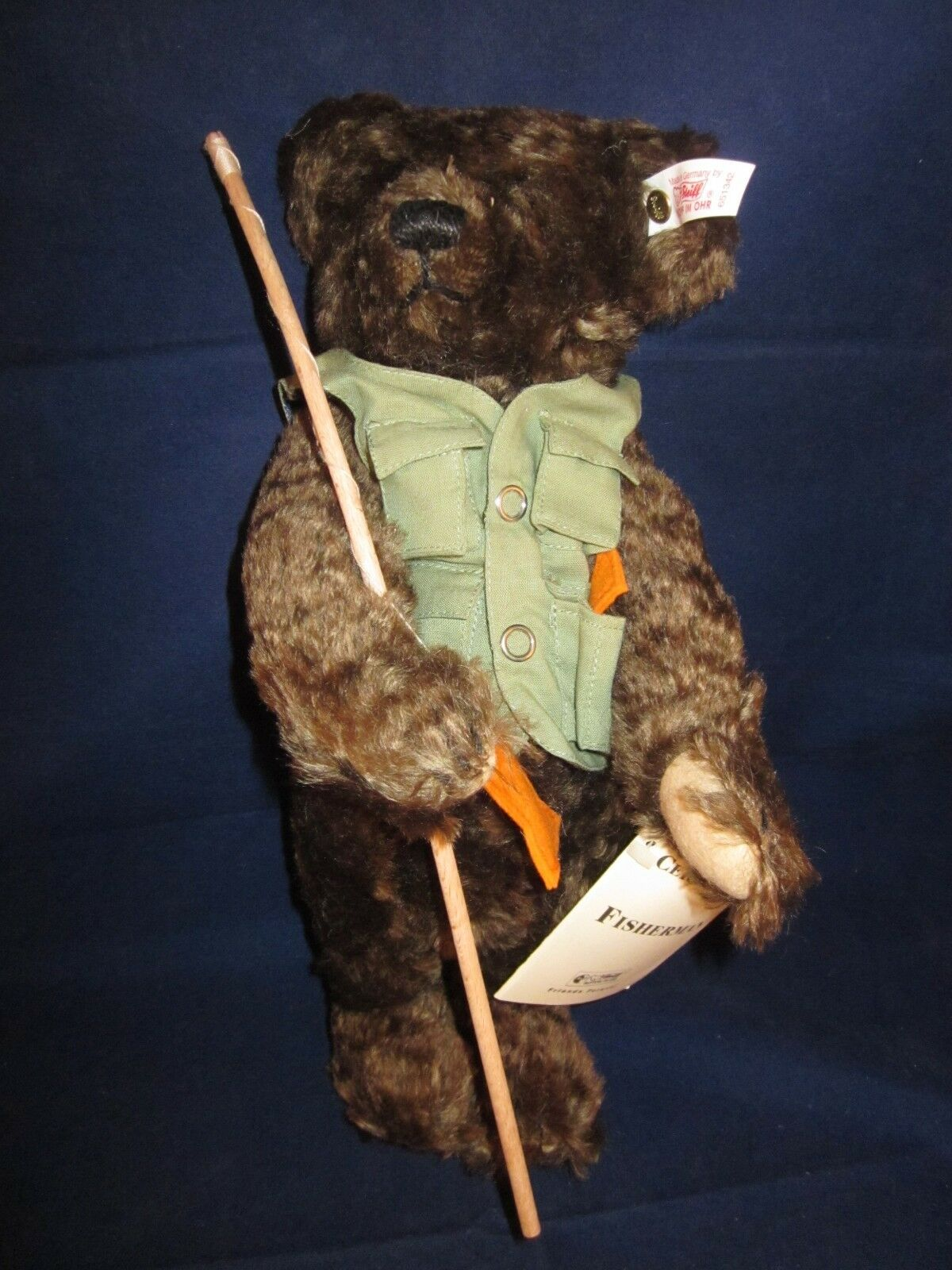 STEIFF Fisherman Bear LIMITED EDITION ~ NEW with TAG
