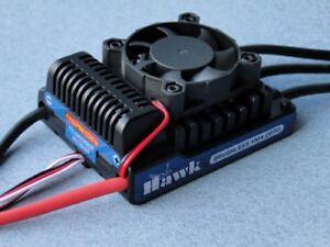 Fusion Hawk 100a Hv Opto Sans Brosse Esc 14-36 Nimh ~4-12 Lipo P-fs-hwk100