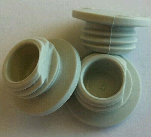 Kunststoff mit Schlitz 5 x Blindstopfen M12 grau