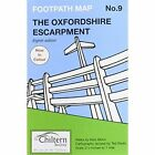 The Oxfordshire Escarpment: No. 9 by Nick Moon (Sheet map, folded, 2009)