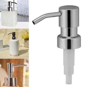 e-Edelstahl-Kopf-Kueche-In-Sink-Liquid-Seifenspender-Lotioness-Head-UDE-DE