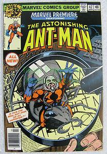 Details about Marvel Premiere #47 1st Appear Scott Lang Ant-Man Key Issue  EXCELLENT BIG PICS