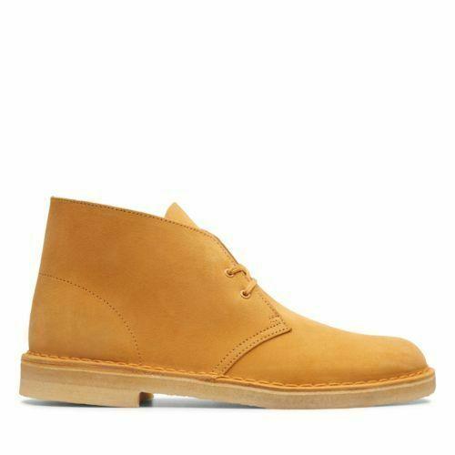 Clarks Originals Desert Boots Men's Tumeric orange Suede 26139166
