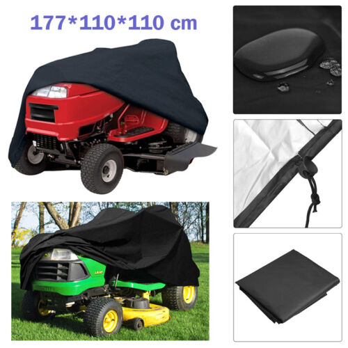 Waterproof Ride On Lawnmower Tractor Cover For All Weather Outdoor Storage NEW