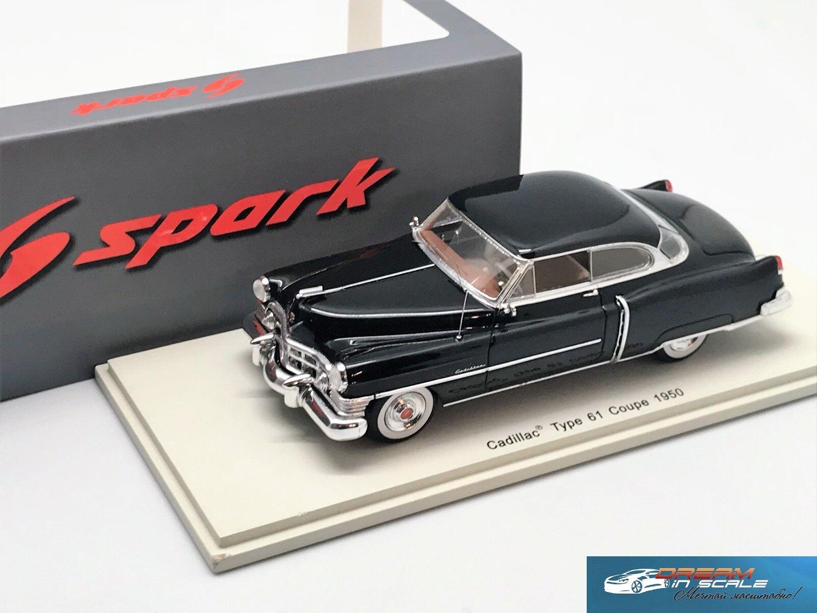 Illac Type 61 Coupé 1950 noir Spark S2920 Resin 1 43