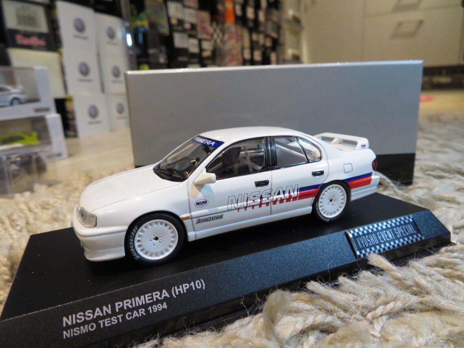 Kyosho Nissan Primera HP10 NISMO Test Car (1994) diecast