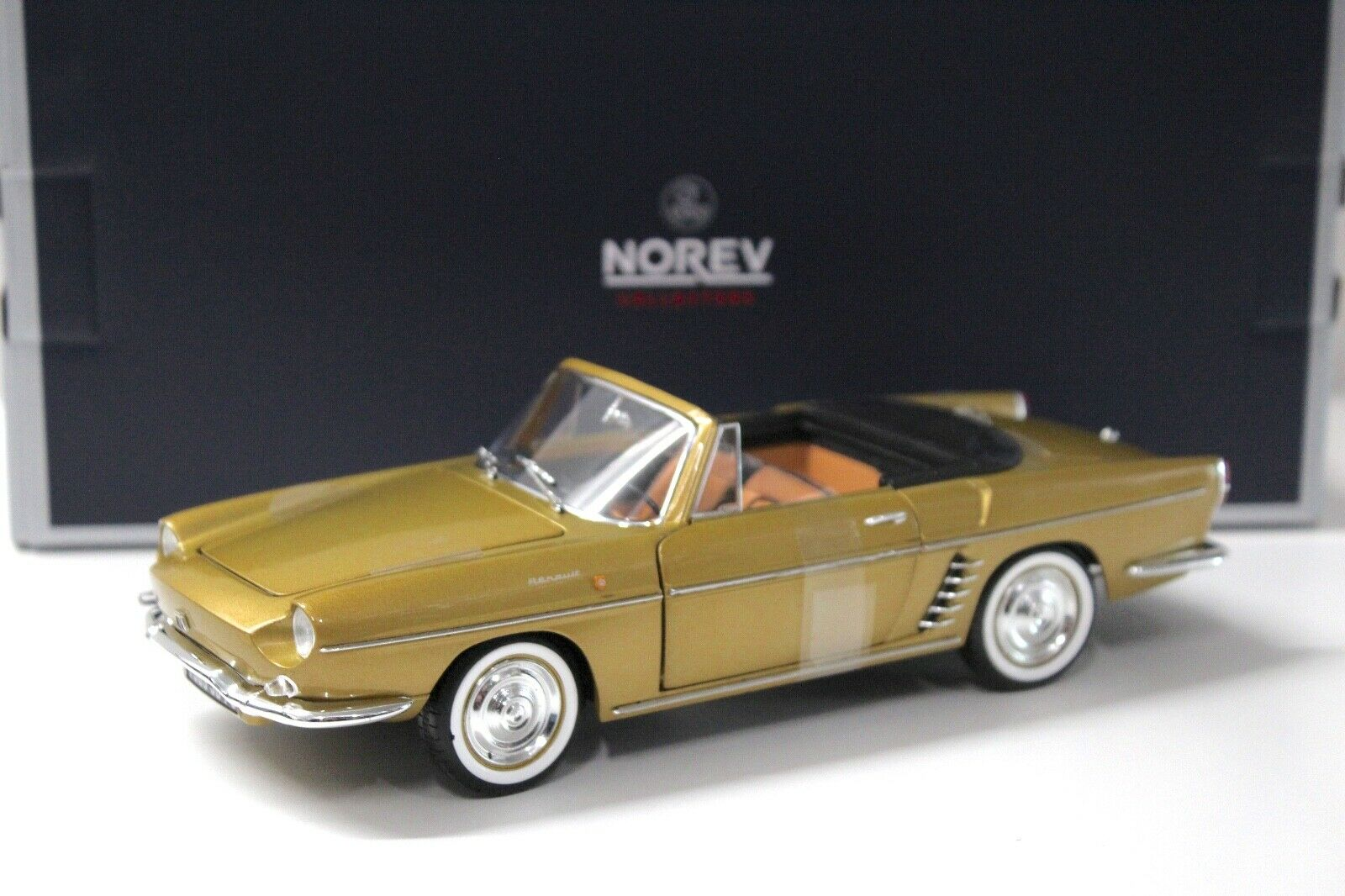 1 18 Norev Renault Floride Caravelle Bahamas Gelb NEW bei PREMIUM-MODELCARS