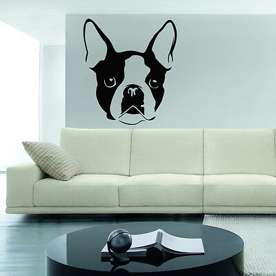 French Bulldog Wall Decal sticker vinyl decor mural bedroom kitchen art dog pup