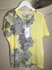 Sandro Top T-shirt With A Plant Print New Collection 2017 NEW! Size 1