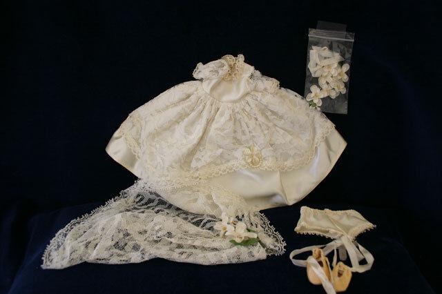 1950'S GINGER, BRIDAL ENSEMBLE, BY COSMOPOLITAN,