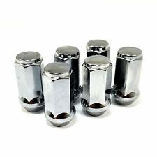 "24x Mr Lugnut 14x1.50 Acorn//Bulge Chrome Closed End Conical Long 3//4 1.75/""L"