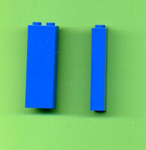 Stein Blau aus Ritterburg Säule Lego--2454 2 Stück --1 x 2 x 5