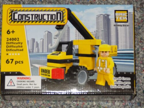 Small Crane Bric Tek Building Block Construction Toy Brick 24002