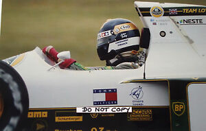 9x6 fotografia, Julian Bailey, Lotus-Judd 102B, GP BRASILE INTERLAGOS 1991