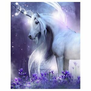 Mystical-Licorne-Couverture-Polaire-Enfants-Violet-120cm-x-150cm