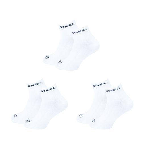 O/'Neill Unisex Quarter Socken 35-38 39-42 43-46 Herren Sport Freizeit Baumwolle