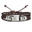 bracciale-uomo-pelle-in-cuoio-con-corda-bracciali-braccialetto-set-acciaio-da miniatura 7