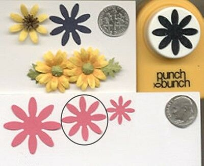 "Card Making Embelishments Large Craft Punch 1/"" 2,5 cm DAISY"
