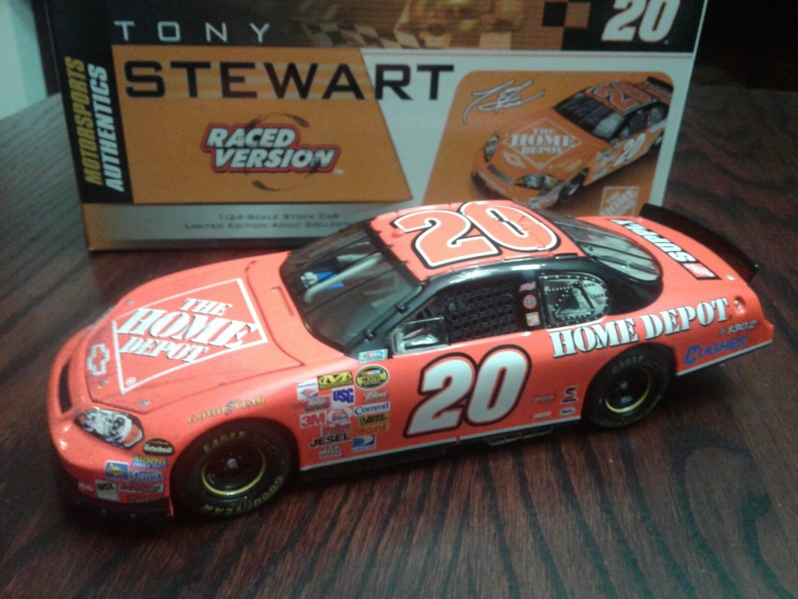 2006 RCCA Tony Stewart  20 Home Depot Martinsville Raced Win 1 24 1 of 150
