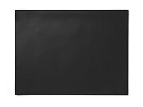 Schreibtischauflage  Kunststoff Schreibtischunterlage schwarz Schreibunterlage