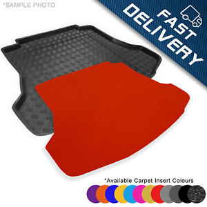 Black Carpet Insert carmats4u To fit Meriva B 2010-2014 Fully Tailored PVC Boot Liner//Mat//Tray