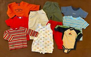 10 Pc Baby Boy Clothes Lot Bundle 12 18 Months Gap Okie Dokie Children S Place Ebay