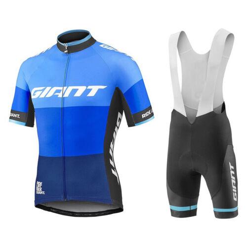 Mens team cycling jersey and bib shorts set cycling jerseys cycling bib shorts