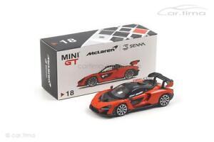 FleißIg Mclaren Senna rhd - Mira Orange Mgt00018-r Eine GroßE Auswahl An Modellen Mini Gt 1:64