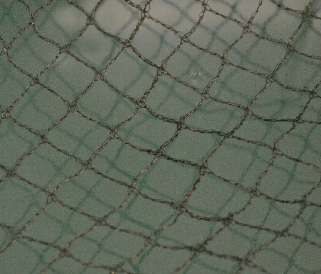 Pond Net Fishpond Protector Cover Black Netting Packs with Fixing Pegs 4mX3m