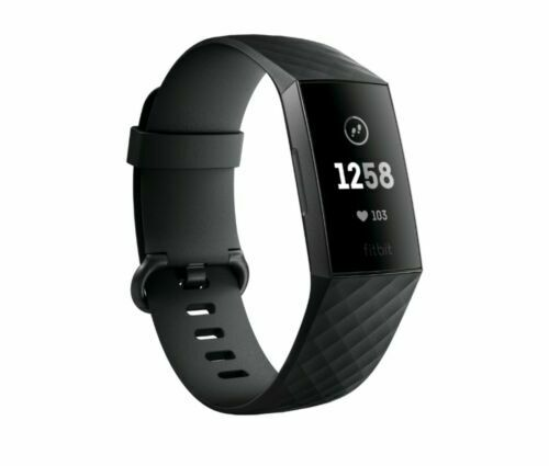 NEW Fitbit Charge 3 Fitness Activity Tracker - Graphite/Black