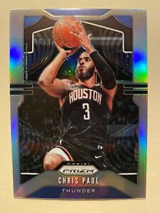 2019-20-Panini-Prizm-Chris-Paul-Silver-Prizm-SP-211-MINT-RARE-MUST-SEE