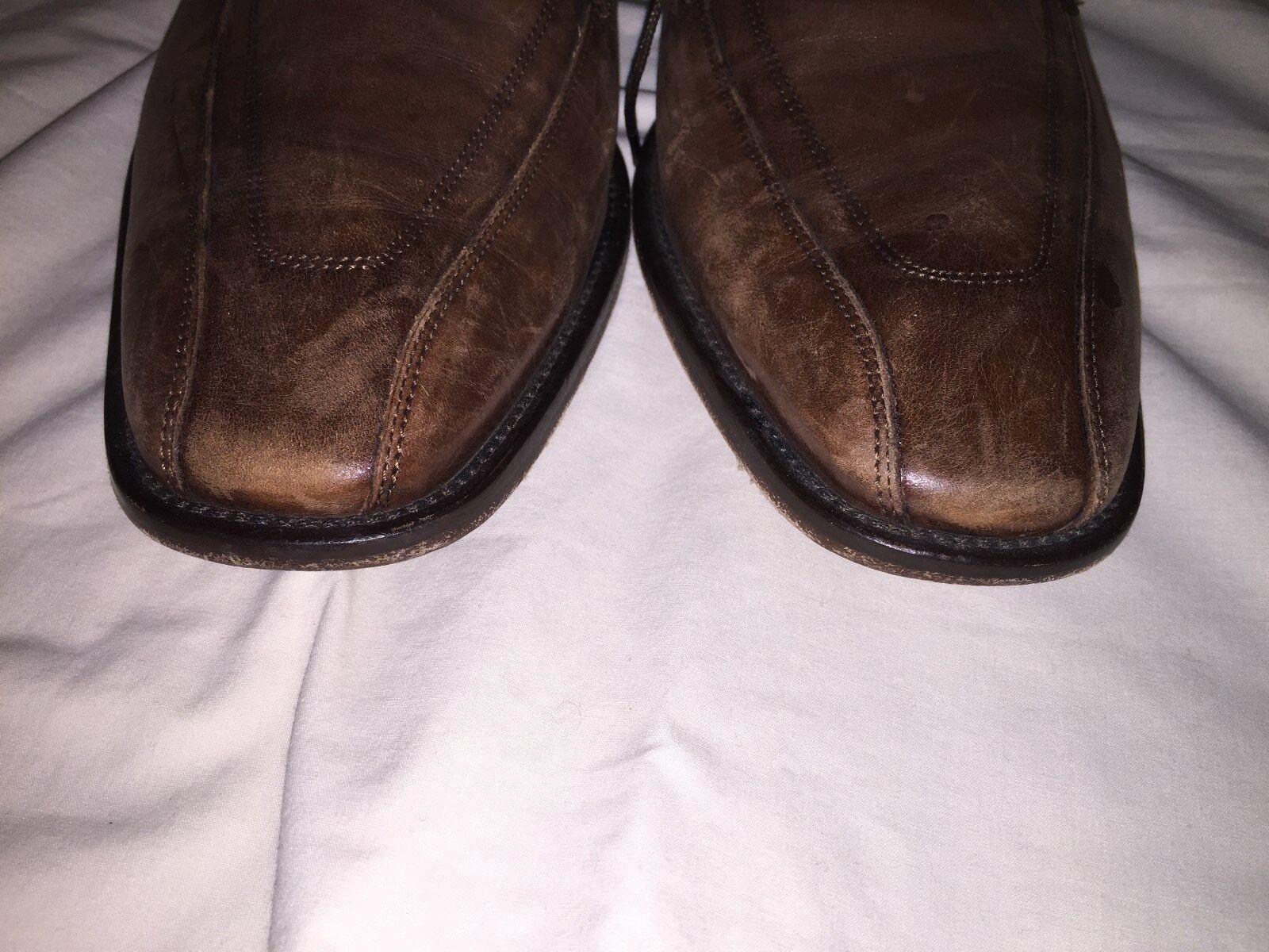 Mercanti Fiorentini marrone Oxford Lace Up Uomo Uomo Uomo Taglia 11.5M 182a1f