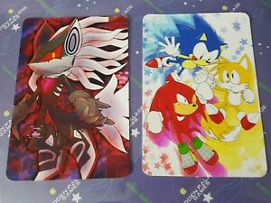 Sonic Forces Mania Infinite Classic Mini Print Hedgehog Fan Art Tails Knuckles Ebay