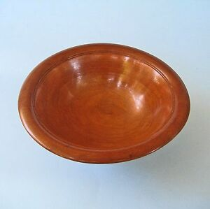 VINTAGE-TURNED-WOOD-BOWL-Small-Australian-Timber-Treen-Hand-Made