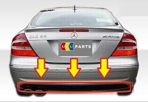 Nuevo-Genuino-Mercedes-Benz-MB-CLK-Clase-W209-AMG-Estilo-Parachoques-Trasero-Difusor