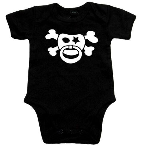 schwarz SCHNULLERPIRAT Baby Body