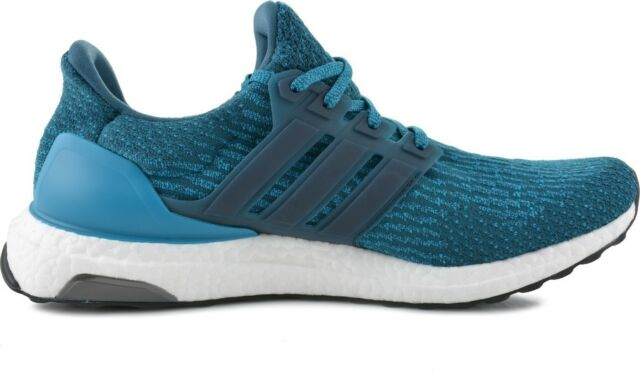 5f0dc03a6 New Adidas Ultra Boost 3.0 Petrol Night Mystery Blue Men s Running Shoes  S82021
