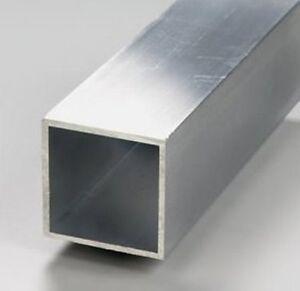 TUBE CARRE ALUMINIUM  -  80 X 80 X 2 mm  -  CONSTRUCTION METALLIQUE
