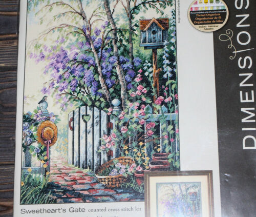 Dimensions Counted Cross Stich Sweetheart/'s Gate Design by Sandy Bergeron 35144