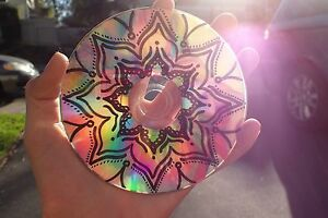 Tumblr Teen Room Decor Mandala Design Cd Art Ebay